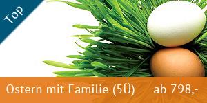 Ferienpark Heidenholz Angebot Ostern mit der Familie