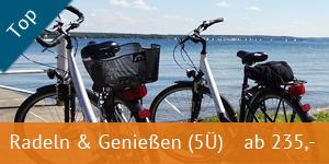 Ferienpark Heidenholz Arrangements Radeln und Genießen