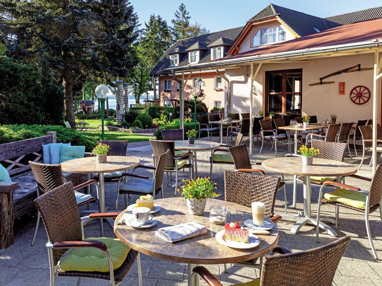 Restaurant im Ferienpark Heidenholz in Plau am See